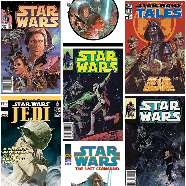 70-454 Star Wars Poster Fronts tapete