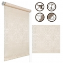 01 Mini Roller blinds Kola / cream