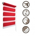 44 Roller blinds D&N / red