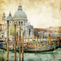 Venice in a picturesque style